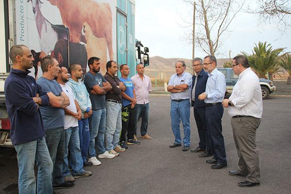 Ocho Desempleados Realizan Un Curso De Matarife Organizado Por El Cabildo Y Homologado Por El Gobierno De Canarias Cabildo