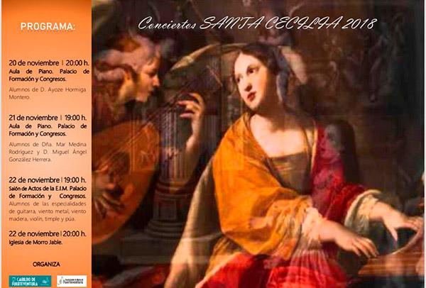 cartel_conciertos_santa_cecilia_2018