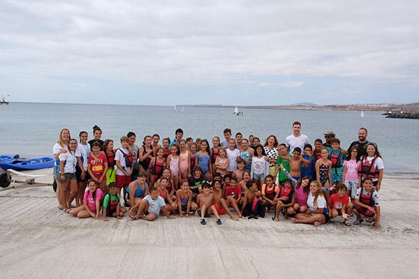 165 niñas y niños participan en el Campamento Perinquén 2019