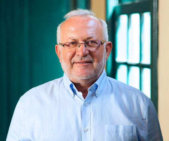 D. Marcelino Cerdeña Ruiz, Presidente de la Asociación Grupo de Acción Costera de Fuerteventura