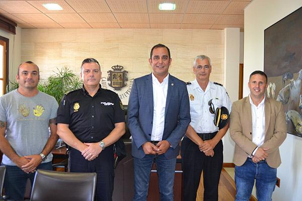 Bienvenida al nuevo Inspector de Policía Nacional