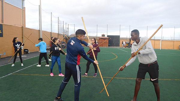 Fuerteventura mantiene un programa único en Canarias con la enseñanza de Juegos y Deportes Tradicionales