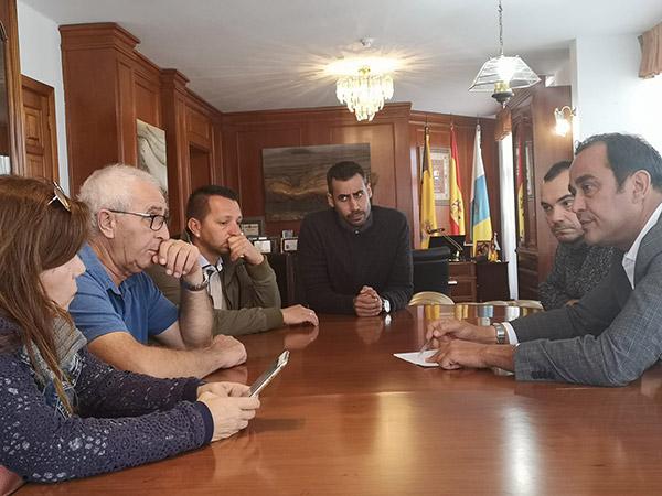 Fuerteventura plantea acciones para mejorar el abastecimiento de agua en el municipio de La Oliva