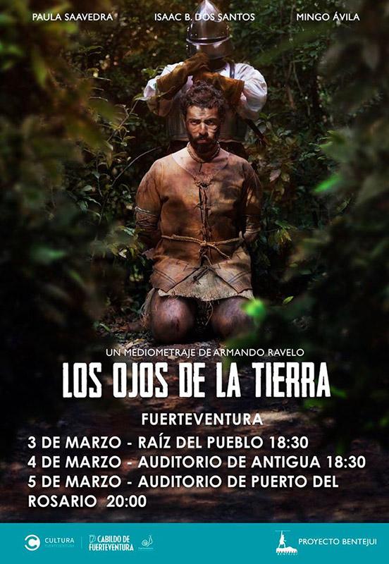 Llega a Fuerteventura el mediometraje 'Los Ojos de la Tierra' con tres proyecciones en la isla