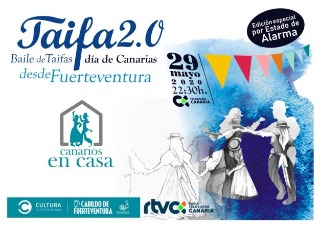El Cabildo de Fuerteventura une el folklore, la cultura y la tradición majorera en un montaje audiovisual para celebrar el Baile de Taifas