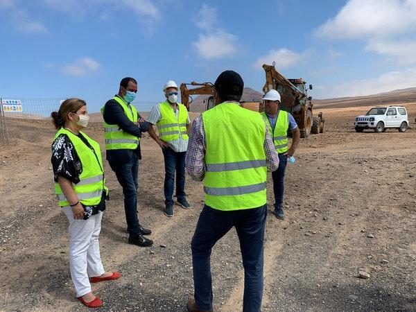 Cabildo de Fuerteventura ejecuta obras de emergencia hidráulica para garantizar el suministro en la Isla