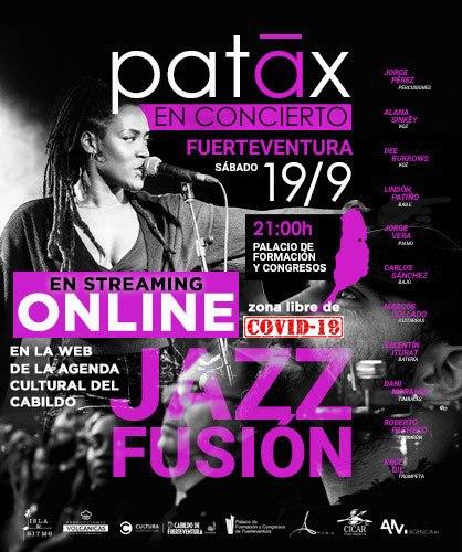 El grupo de jazz fusión Patãx ofrece un concierto en streaming este sábado desde el Palacio de Formación y Congresos