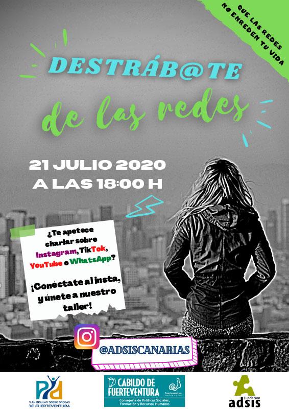 cartel_taller_destrabate_redes
