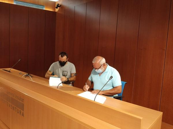 El Cabildo impulsa la redacción del catálogo de protección del patrimonio cultural de Betancuria a través de un convenio de colaboración